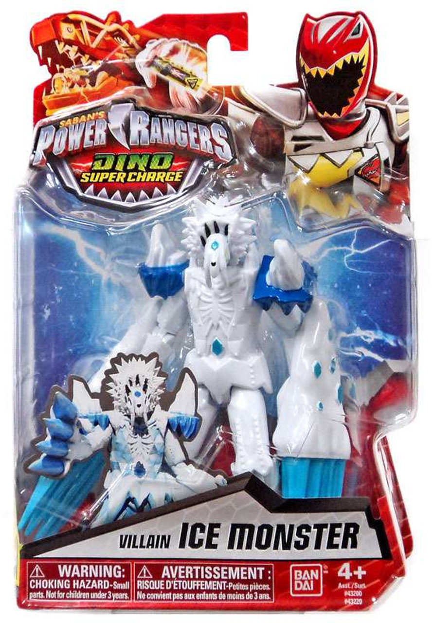 - Power Rangers Dino Super Charge Ice Monster 5 Action Figure Bandai