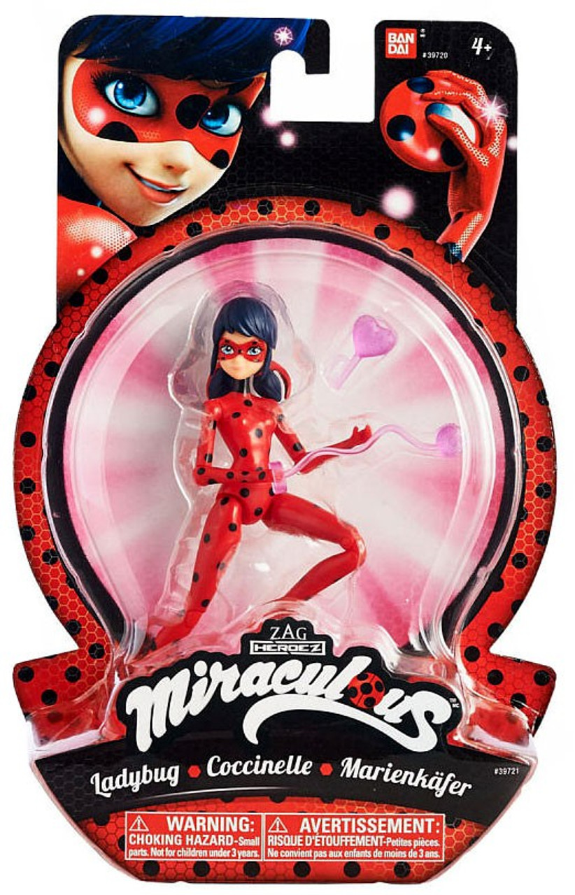 TV Movie Action Figure 6 Inch Volpina Miraculous Bandai Zag Heroes Doll