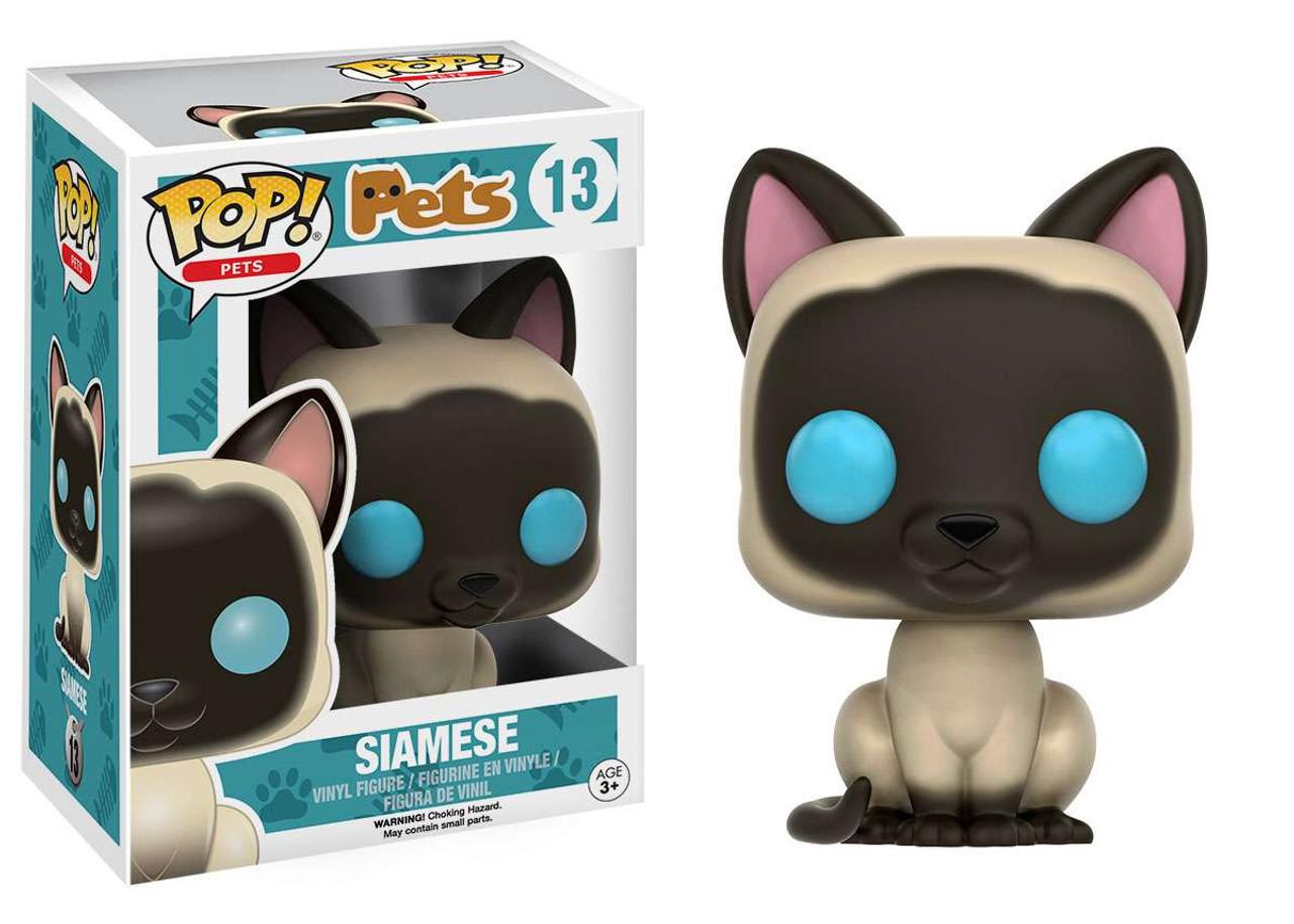 Vinyl Pop Siamese Pop Vinyl--Pets