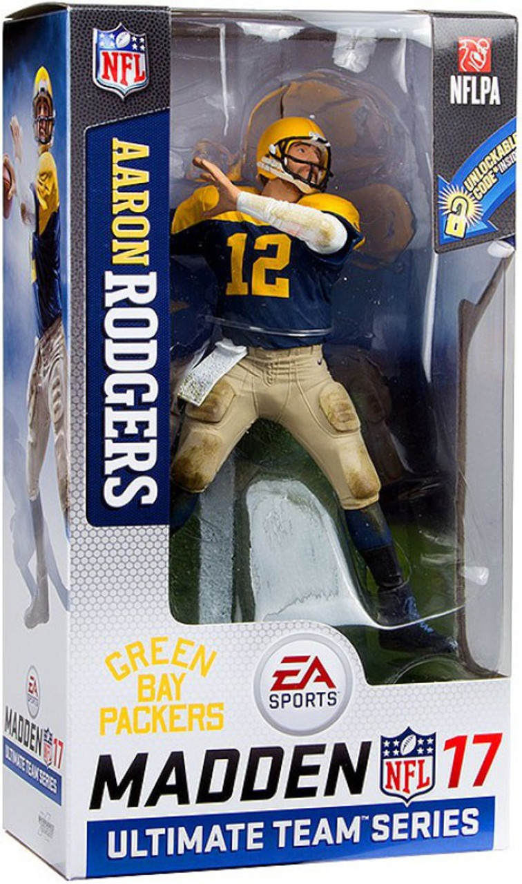 ea2c41ed9 McFarlane Toys NFL Green Bay Packers EA Sports Madden 17 Ultimate Team  Series 2 Aaron Rodgers