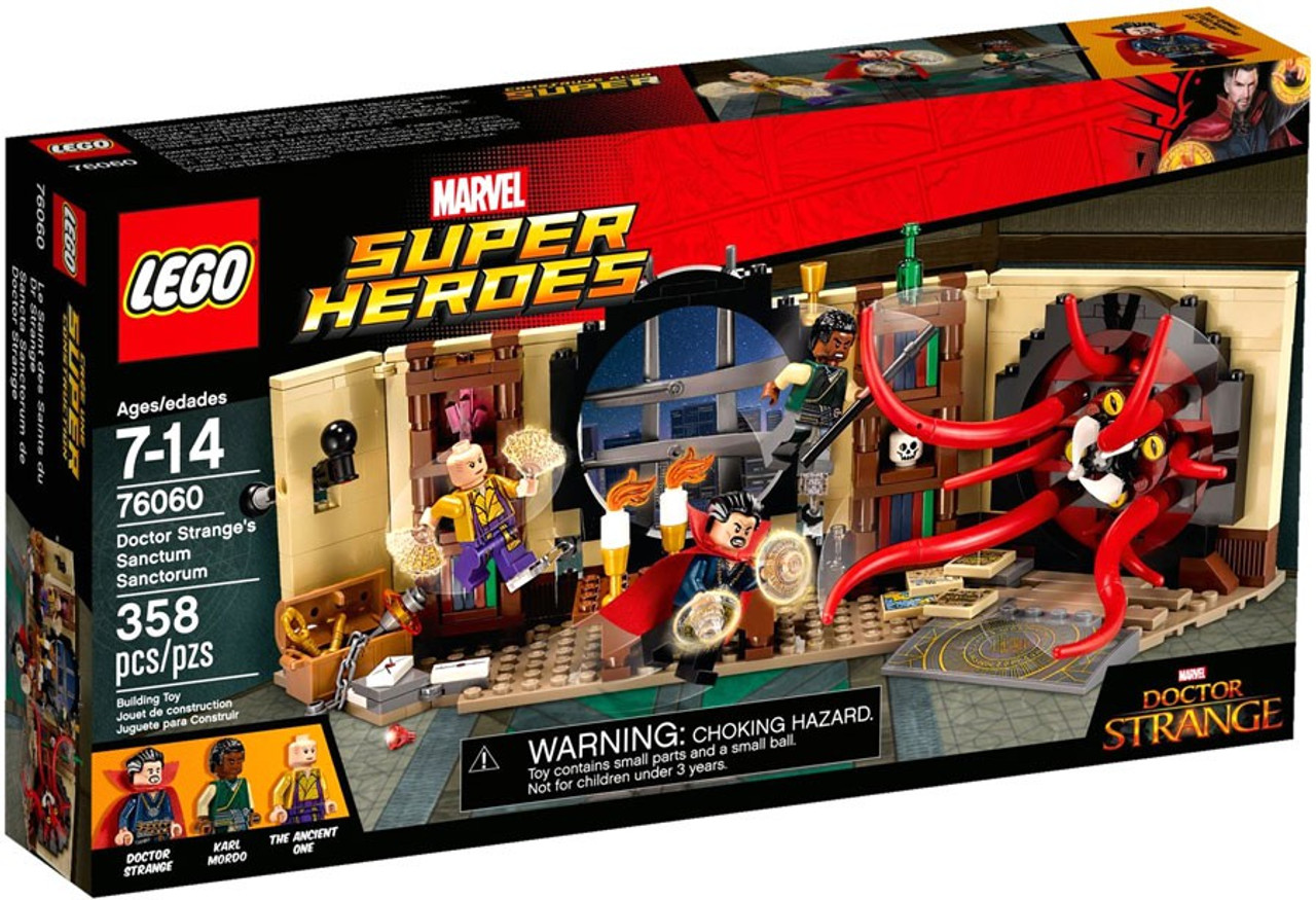 Lego Marvel Super Heroes Spider Man Doctor Stranges Sanctum
