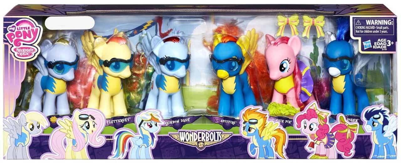 Wonderbolts Set My Little Pony Blind Bag RAINBOW DASH Mini Friendship is Magic