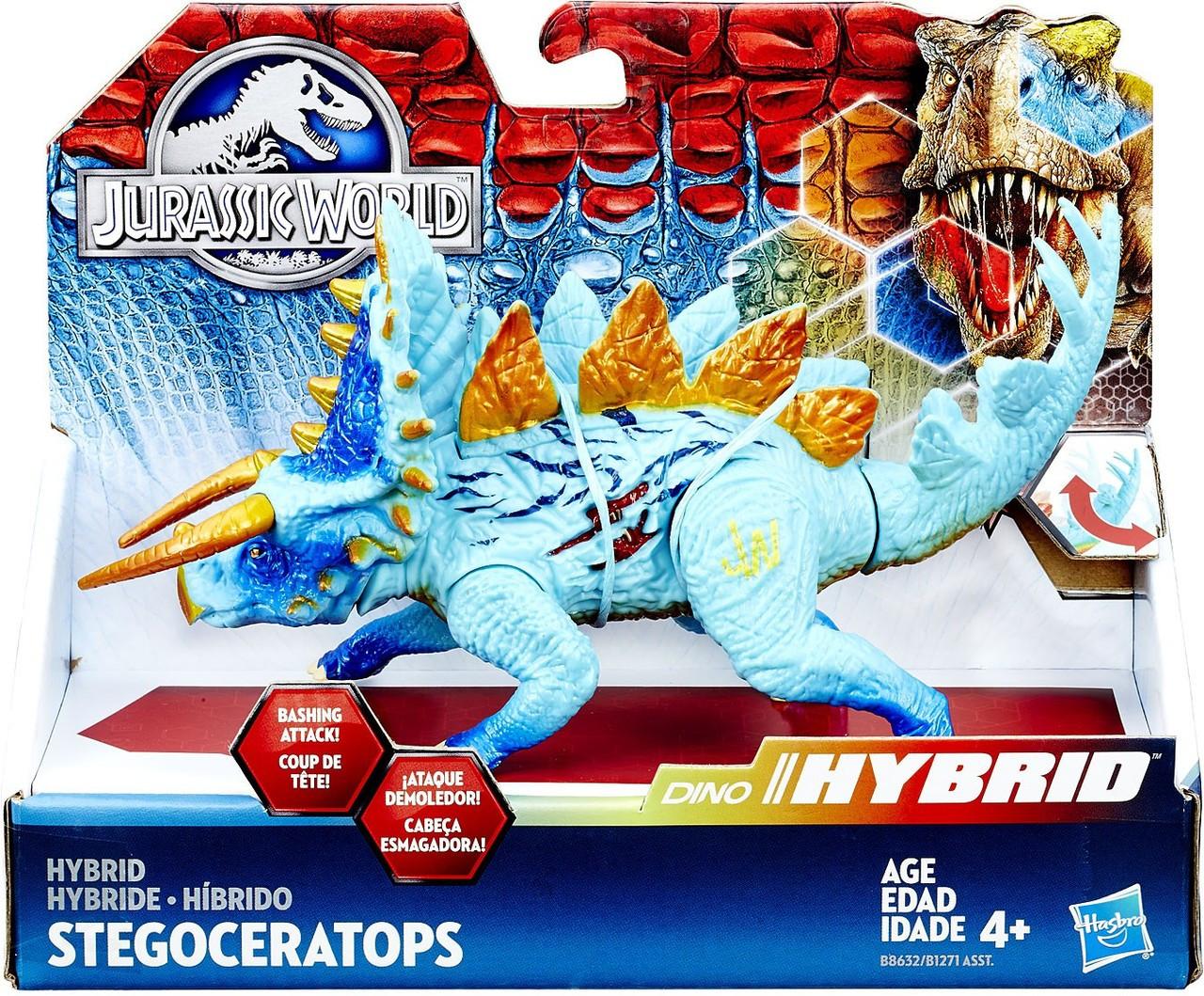 Jurassic World Bashers & Biters Hybrid Stegoceratops Action Figure