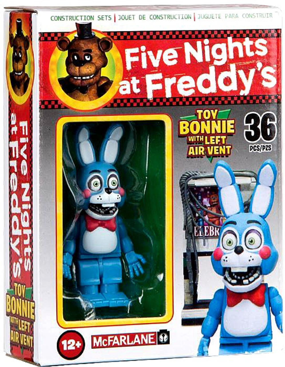 McFarlane Toys Five Nights at Freddys Toy Bonnie with Left