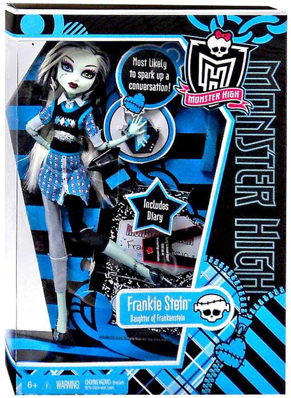 Monster High Frankie Stein 10 5 Doll Damaged Package Mattel Toys Toywiz