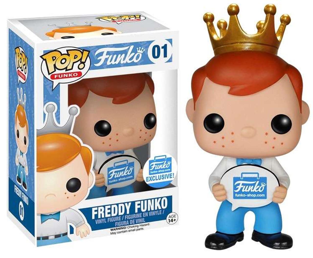 Pop #10 8-bit Freddy! Funko Pop- Freddy Funko Funko Shop Limited Edition