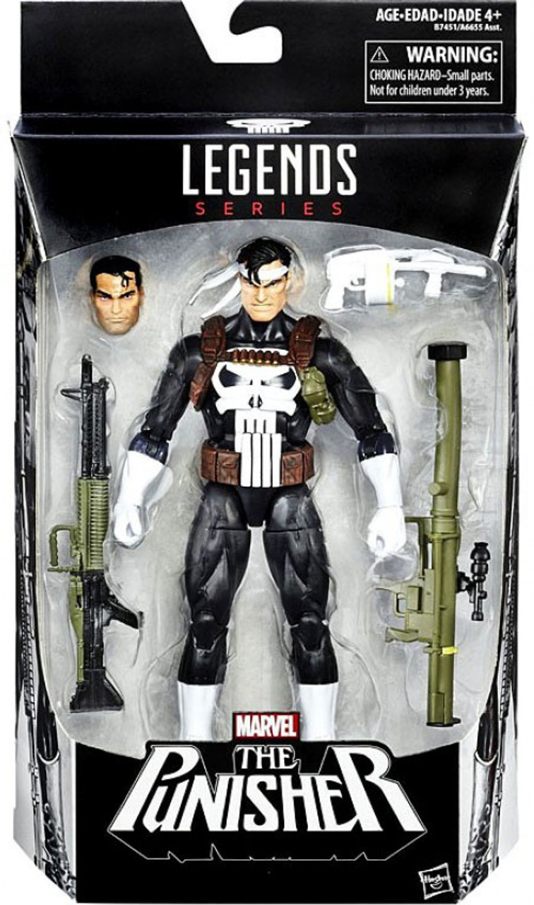 "! PUNISHER VARIANT NEMESIS BAF SERIES MARVEL LEGENDS 6/"" ACTION FIGURE RARE"