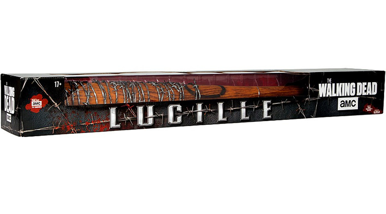 "Negan/'s /'Lucille/' Baseball Bat 32/"" Bloody Replica WALKING DEAD McFarlane"