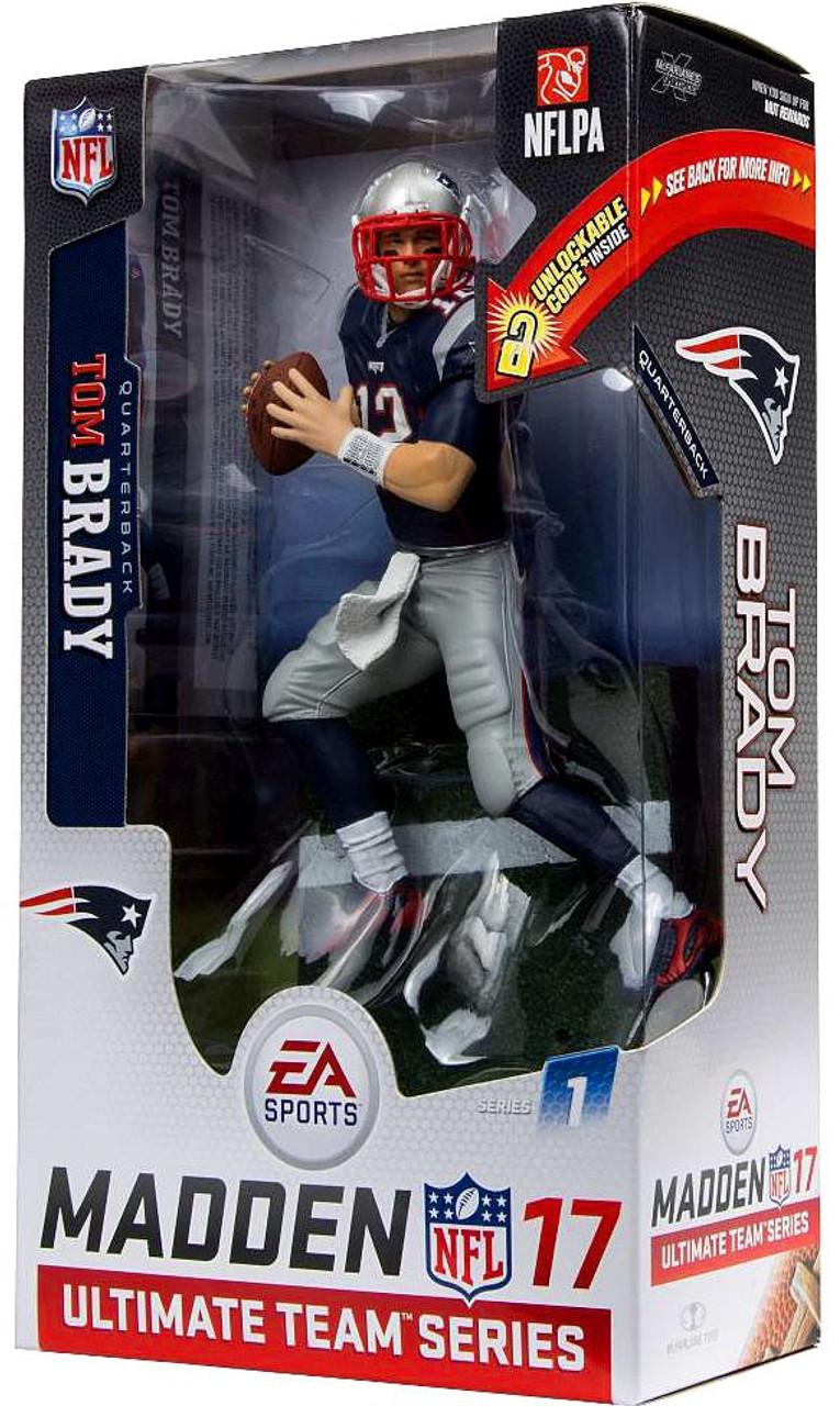 b4ce3a62 McFarlane Toys NFL New England Patriots EA Sports Madden 17 Ultimate Team  Series 1 Tom Brady