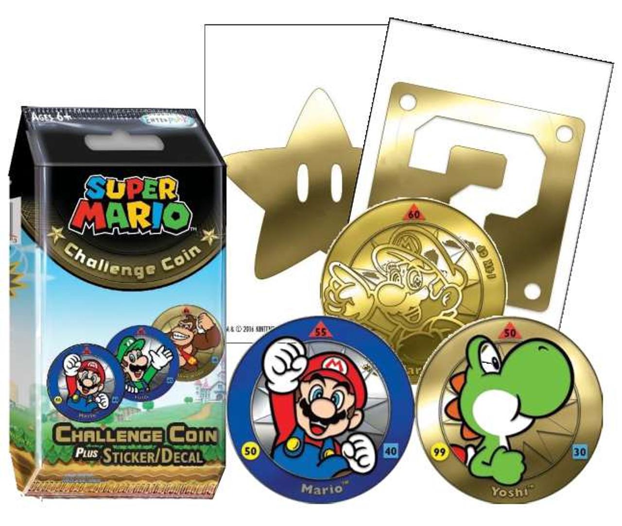 Super Mario Super Mario Challenge Coin Box 24 Packs