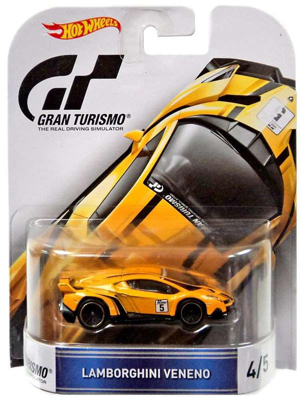 Hot Wheels Gran Turismo Lamborghini Veneno 164 Die Cast Car 45 Mattel Toys Toywiz
