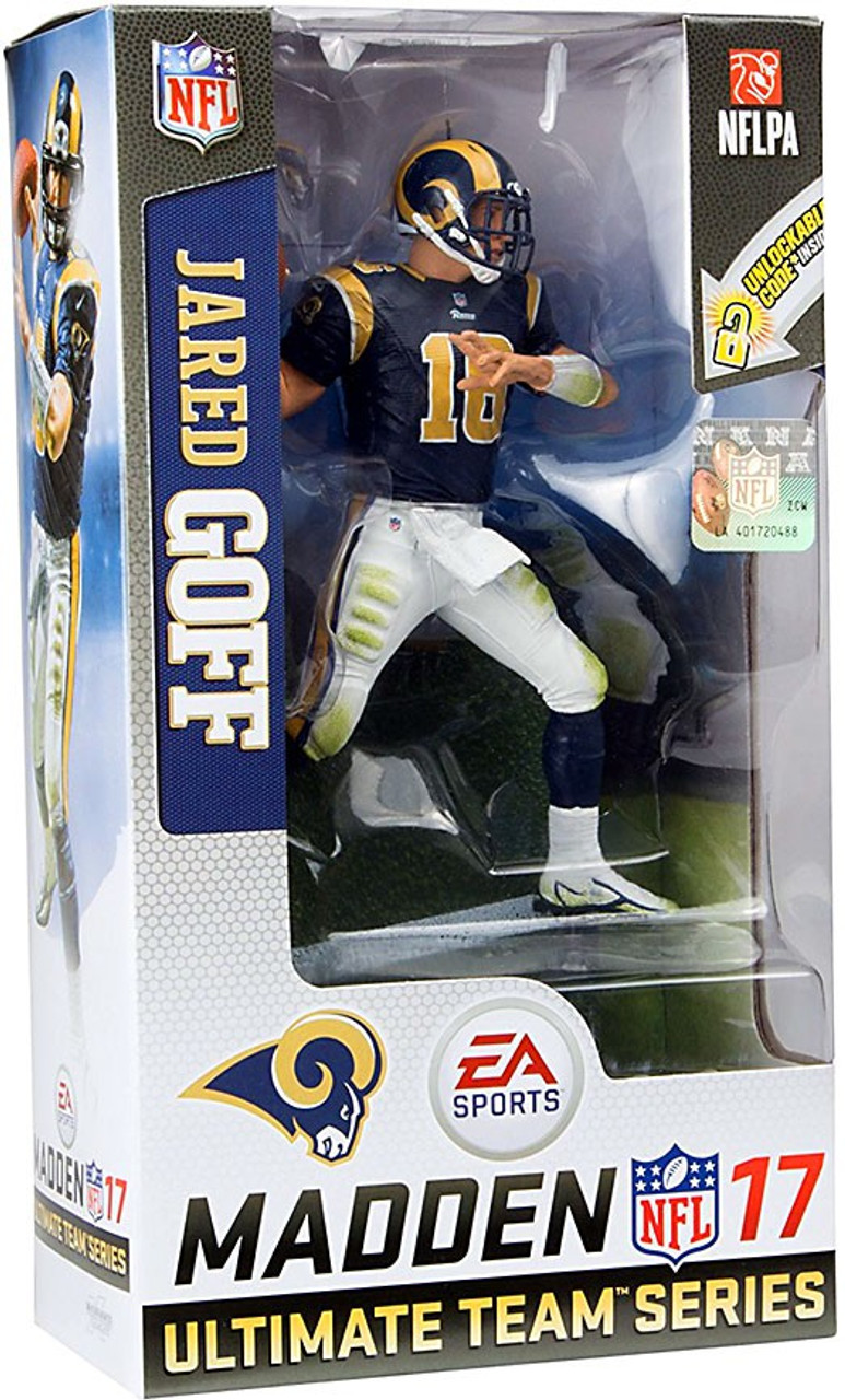 47b203cd5 McFarlane Toys NFL Los Angeles Rams EA Sports Madden 17 Ultimate Team Series  3 Jared Goff