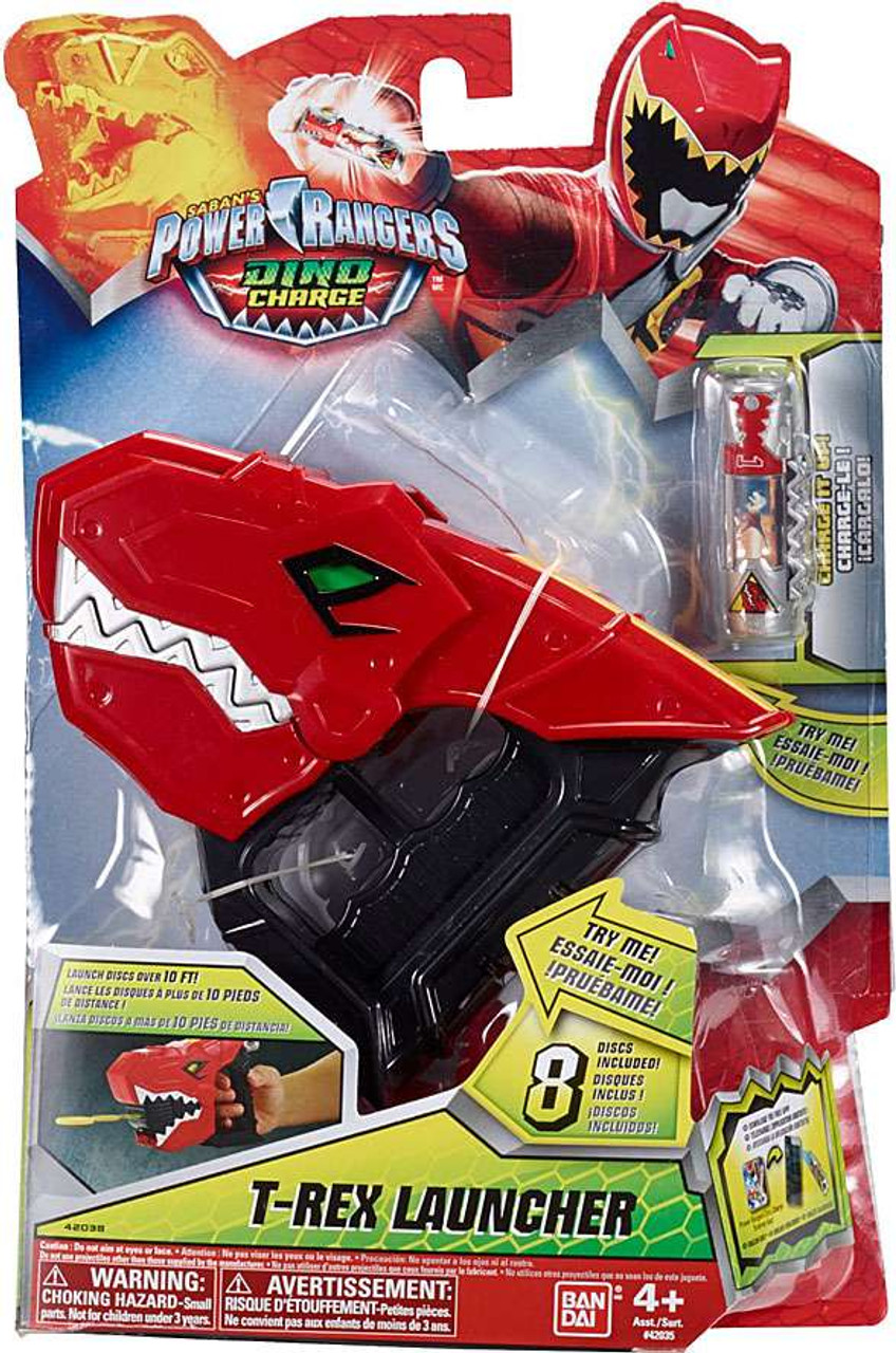 power rangers dino charge t rex launcher roleplay toy 42038 bandai america toywiz power rangers dino charge t rex