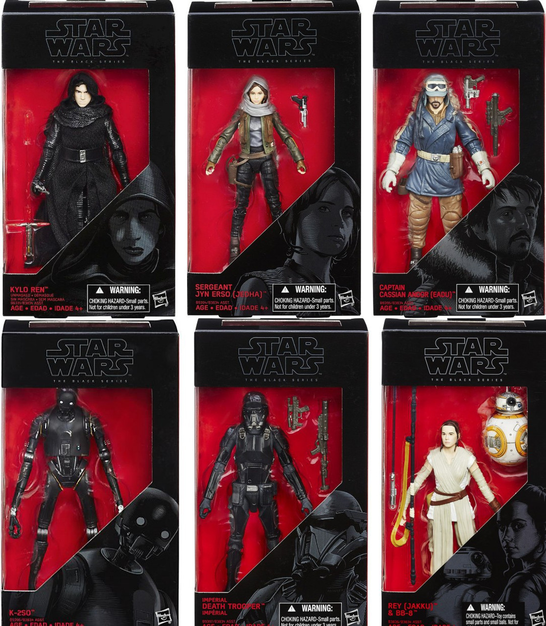 Star Wars Rogue One Action Figure Black Series 6-Inch Jyn Erso