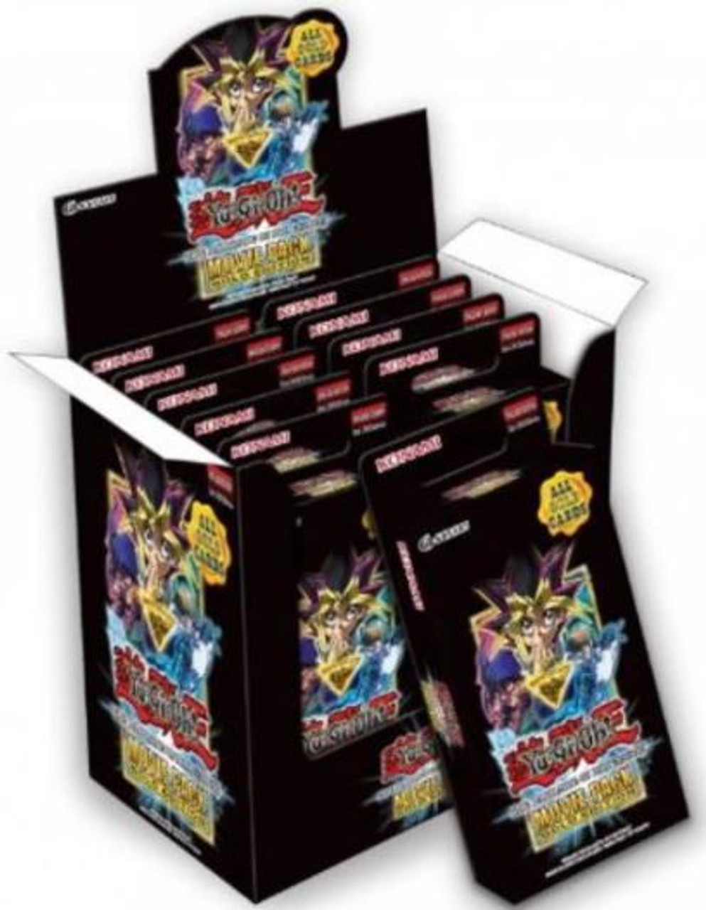 Yugioh Dark Side Of Dimensions Movie Pack Gold Edition Display Box