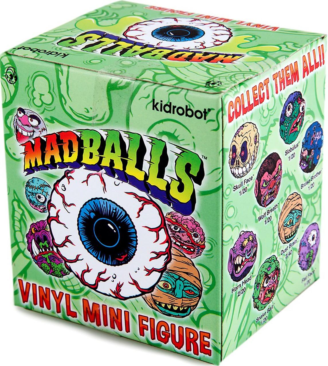 Loose Madballs Glow-in-the-Dark Oculus Orbus 1//80 Vinyl Mini Figure