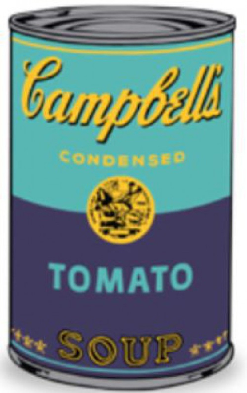 Plush Blue Can Kidrobot Andy Warhol Campbells Soup Can 3-Inch Mini-Figure