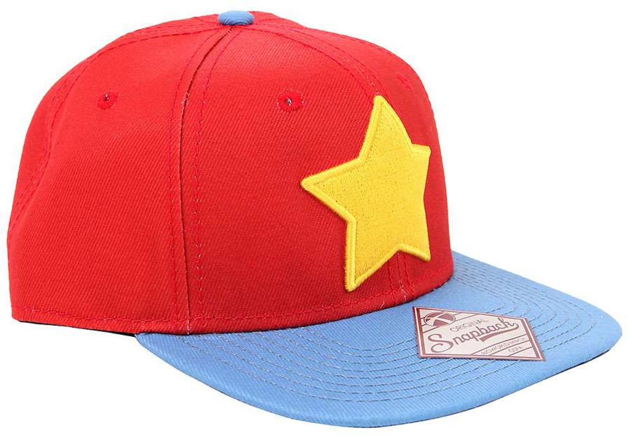 Steven Universe Star Logo Snapback Exclusive Baseball Cap Bioworld - ToyWiz 46dee93ac04