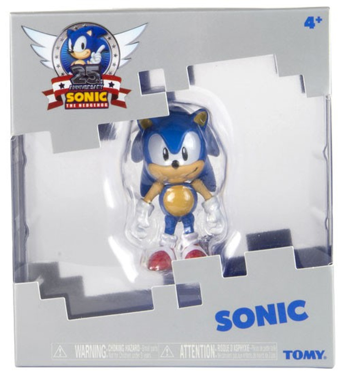 Sonic The Hedgehog 25th Anniversary Sonic 3 Action Figure Tomy Inc Toywiz