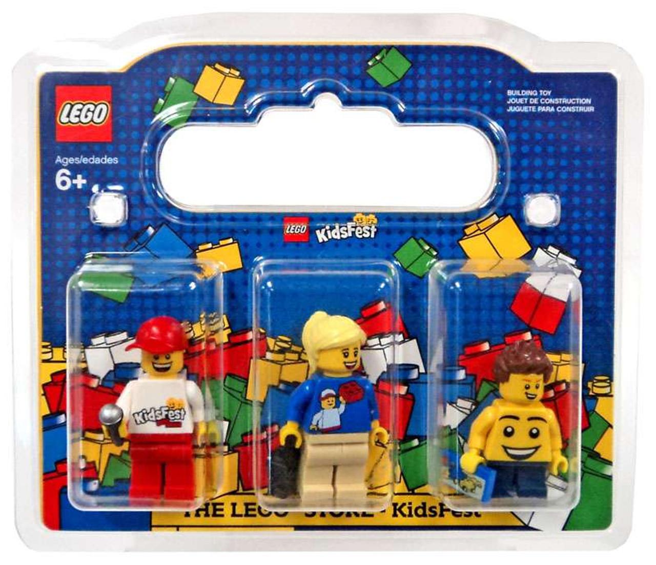 LEGO Store Kidsfest Exclusive Mini Figure 3-Pack #852766