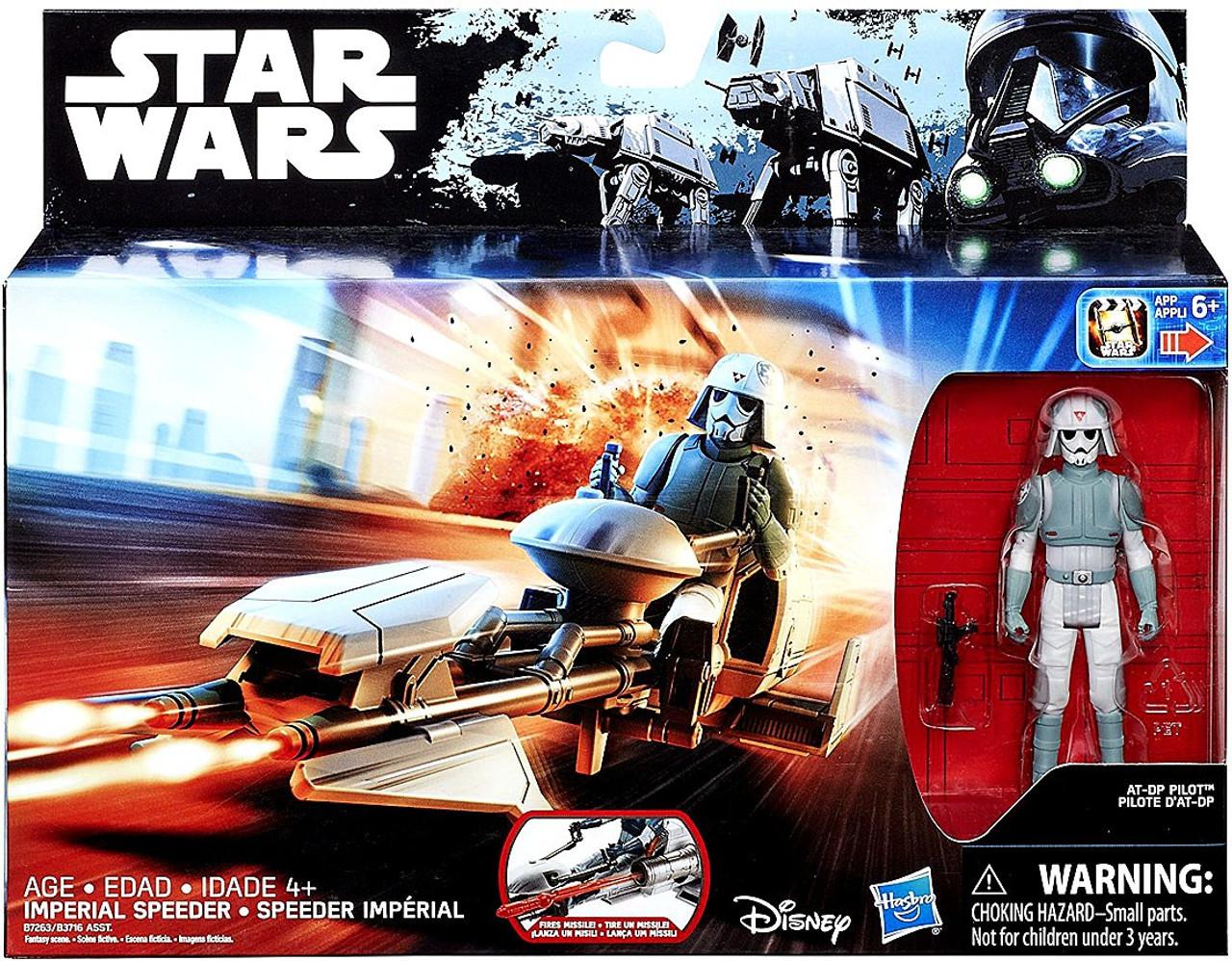 Imperial Speeder with AT-DP Pilot Rebels Star Wars