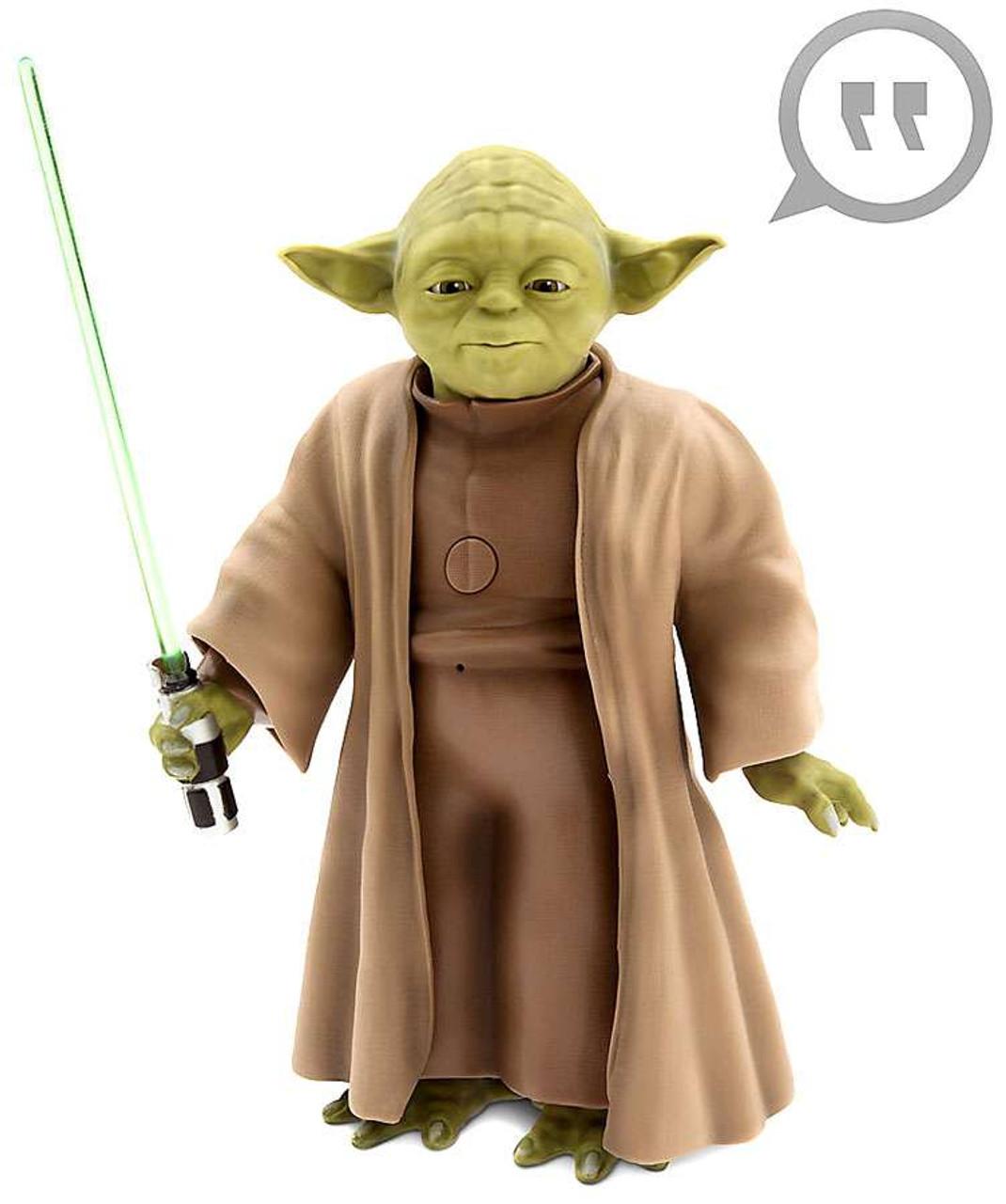 Disney Star Wars Talking Yoda Exclusive 10 Figure 2016 - ToyWiz