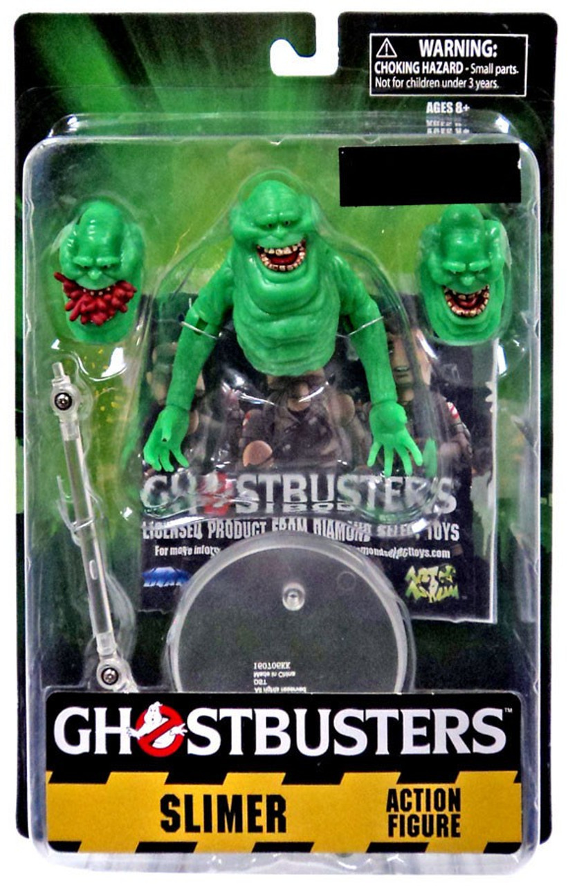"Diamond Select #NEW GHOSTBUSTERS 8/"" Slimer /'Glow-in-the-Dark/' Money Bank"