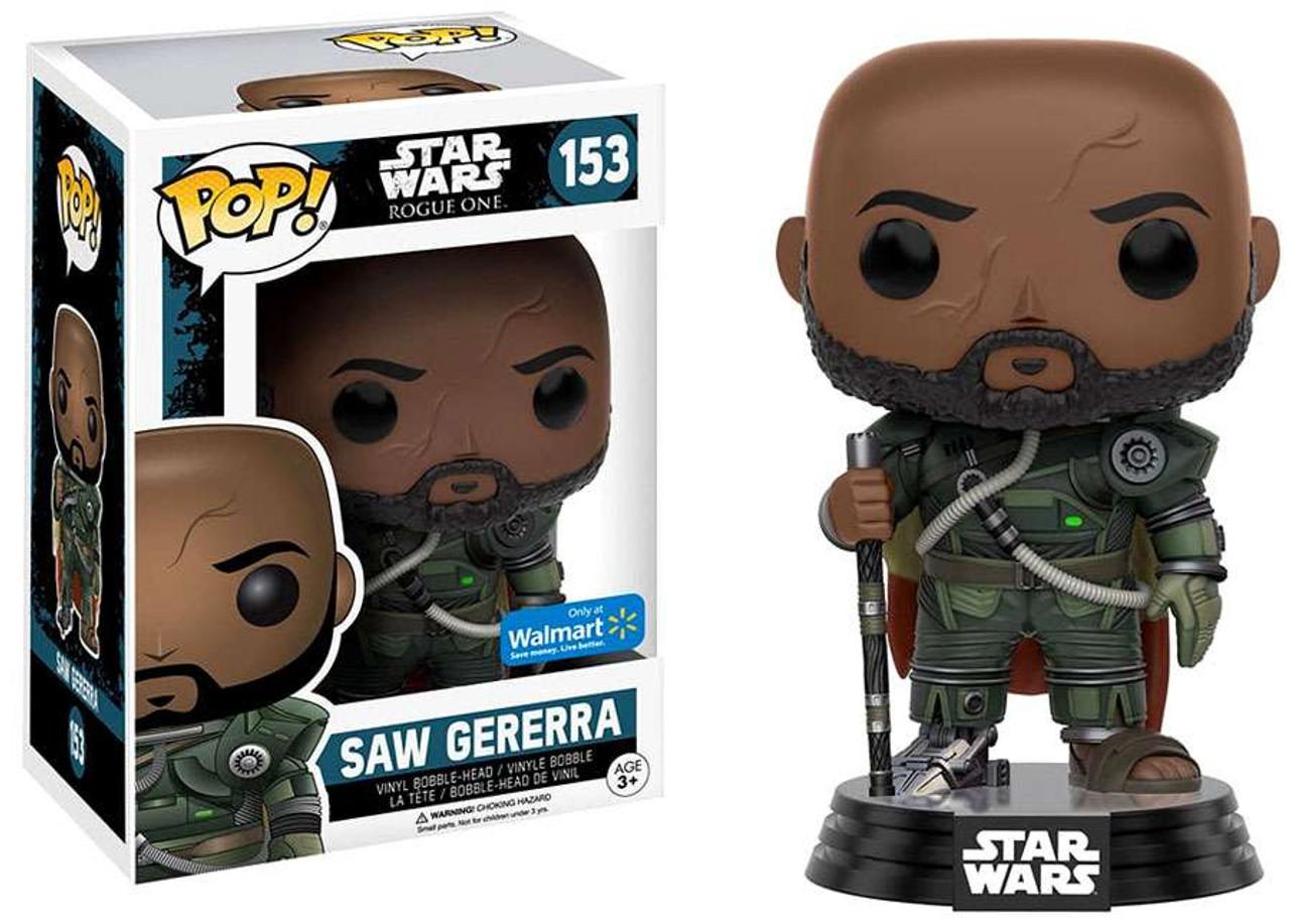 Funko Star Wars Rogue One Pop Star Wars Saw Gererra Exclusive Vinyl Bobble Head 153 Toywiz