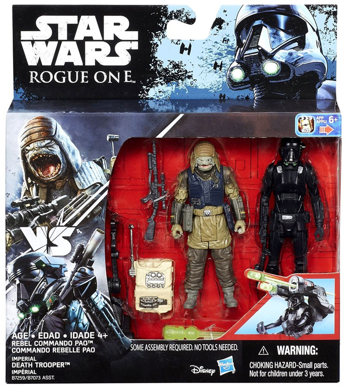 Starwars Event Fnaf Rp Help Wanted Roblox Star Wars Rogue One Rebel Cammando Pao Imperial Death Trooper 3 75 Action Figure 2 Pack Hasbro Toys Toywiz