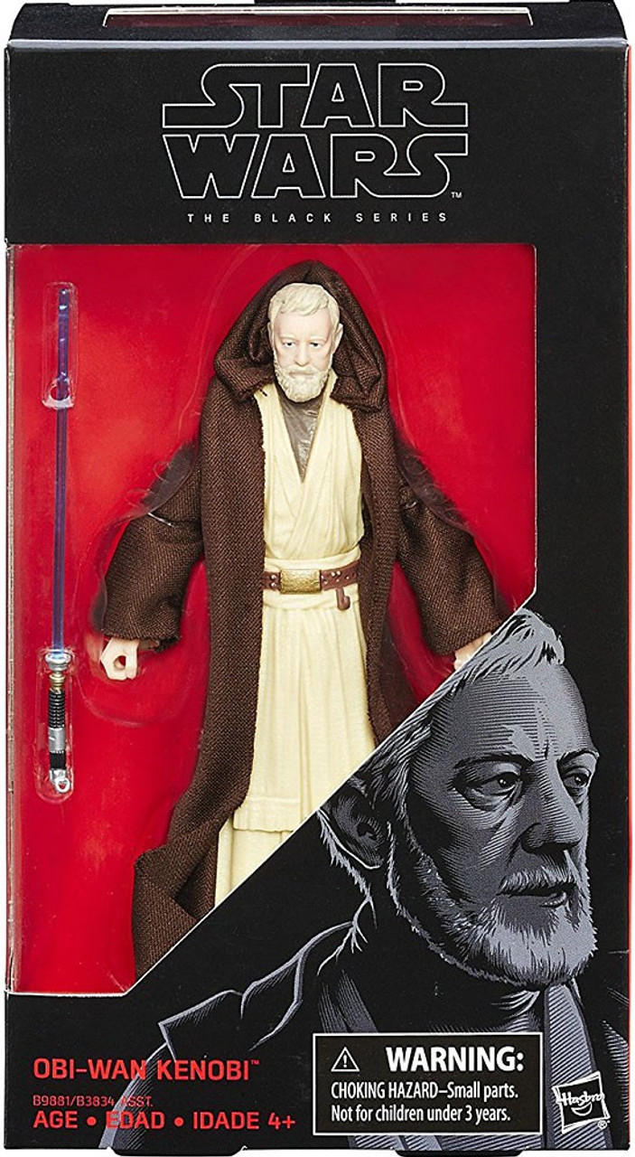 Star Wars Black Series 6 inches figures the 40th anniversary of Obi-Wan Ken