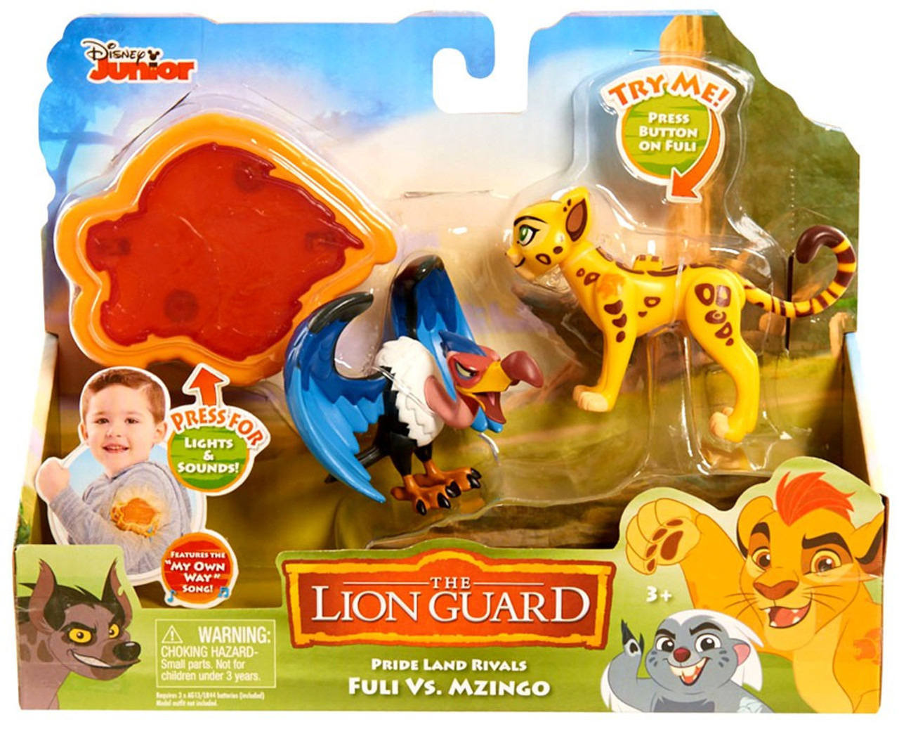 JUSTPLAY The Lion Guard FULI Action Figure toy