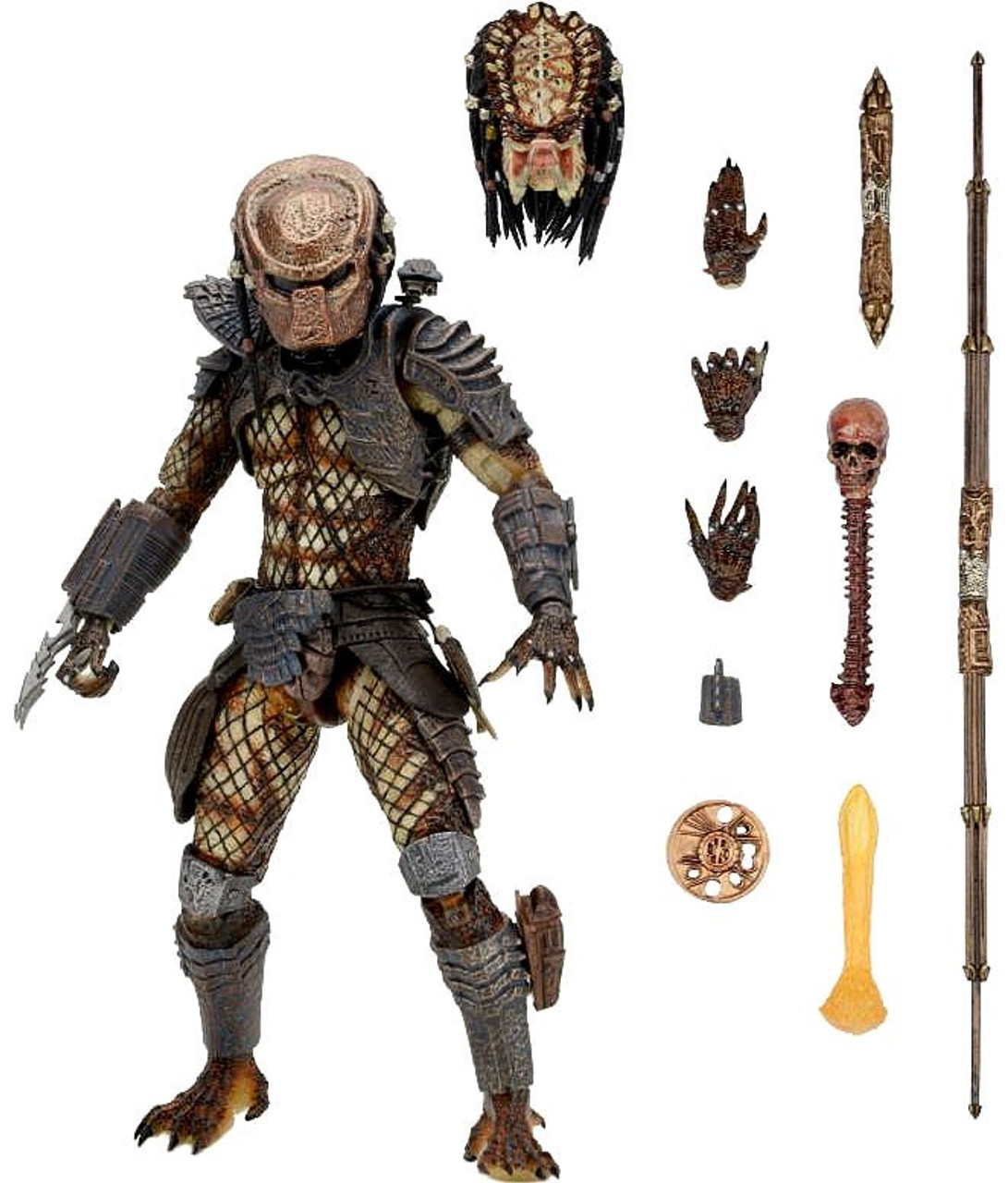 Various NECA Predators 2 Shaman Boar City Hunter Action Figure Toys