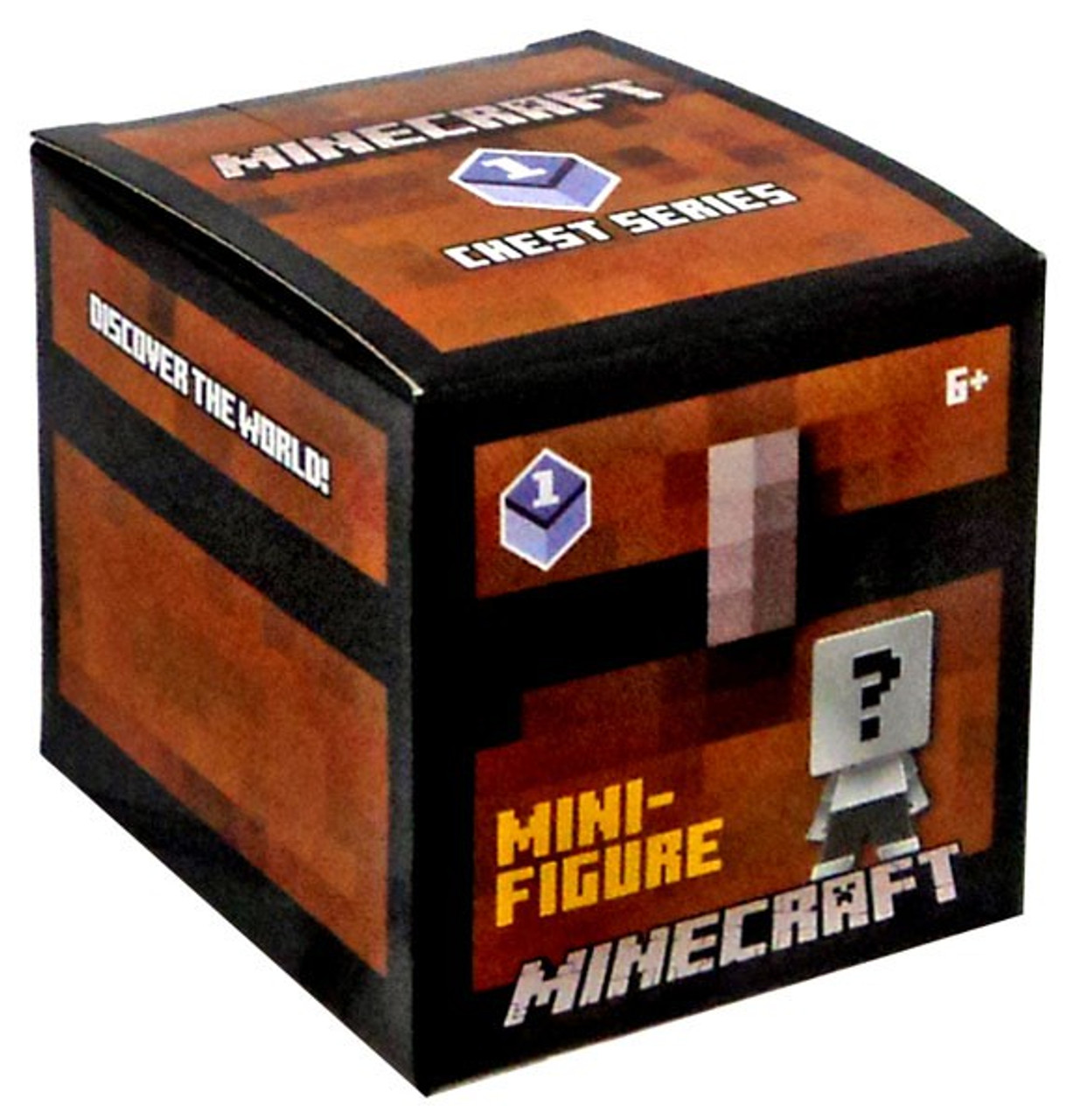 Purple Minecraft Chest Series 3 Mystery Pack