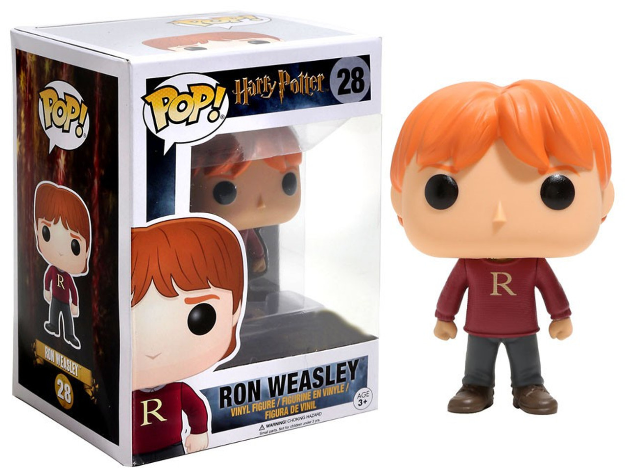 Funko Harry Potter Funko Pop Movies Ron Weasley Exclusive Vinyl
