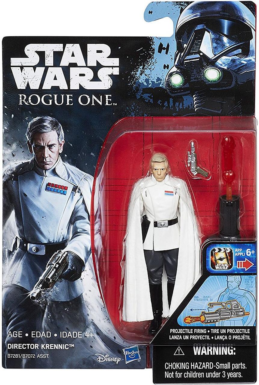 "Disney Star Wars Rouge One Director Orson Krennic Ornament Figure 4/"" New"
