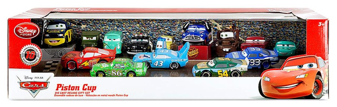 Disney Pixar Cars 143 Deluxe Sets Piston Cup Deluxe Gift Set