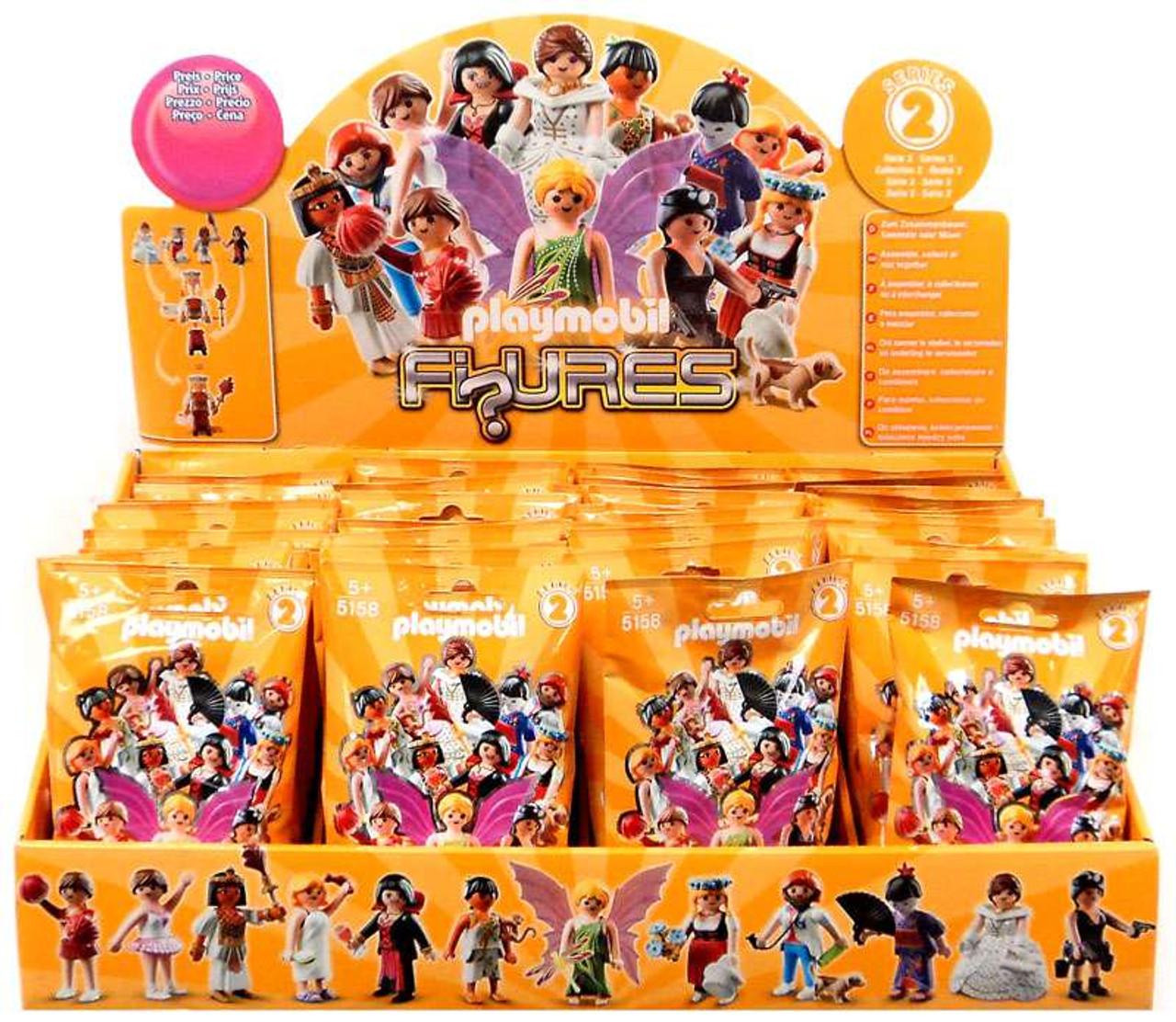 playmobil figures series 2 orange mystery box 48 packs