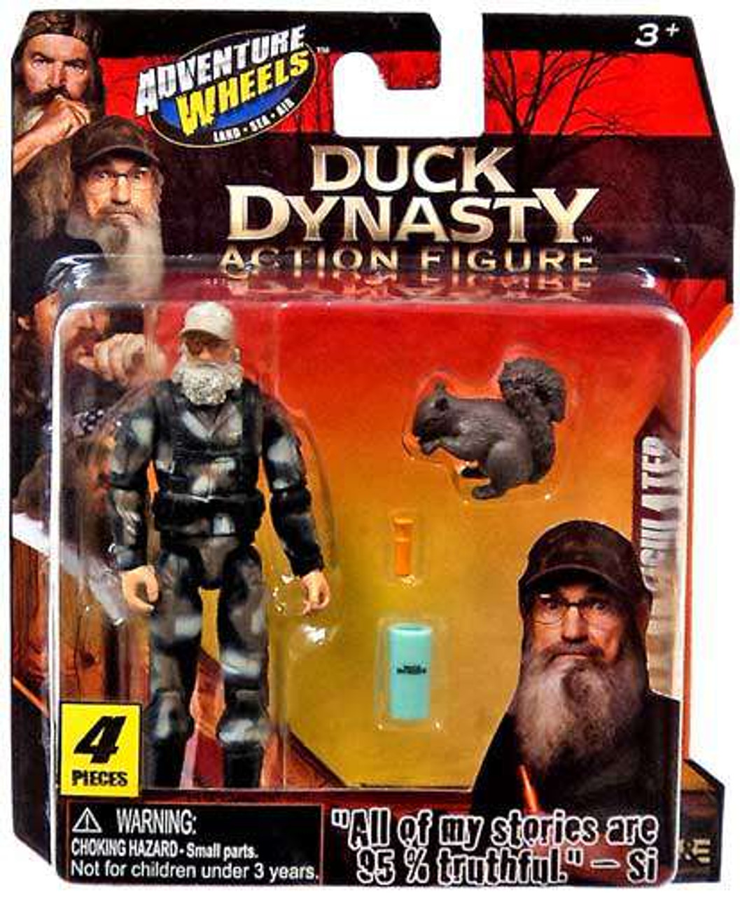 Tree House Kids Duck Dynasty Willie Action Figure Set Sonstige