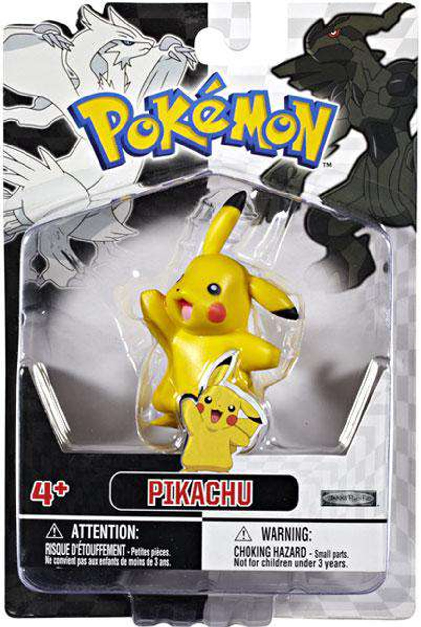 Loose Pokemon Pikachu 1-Inch PVC Figure