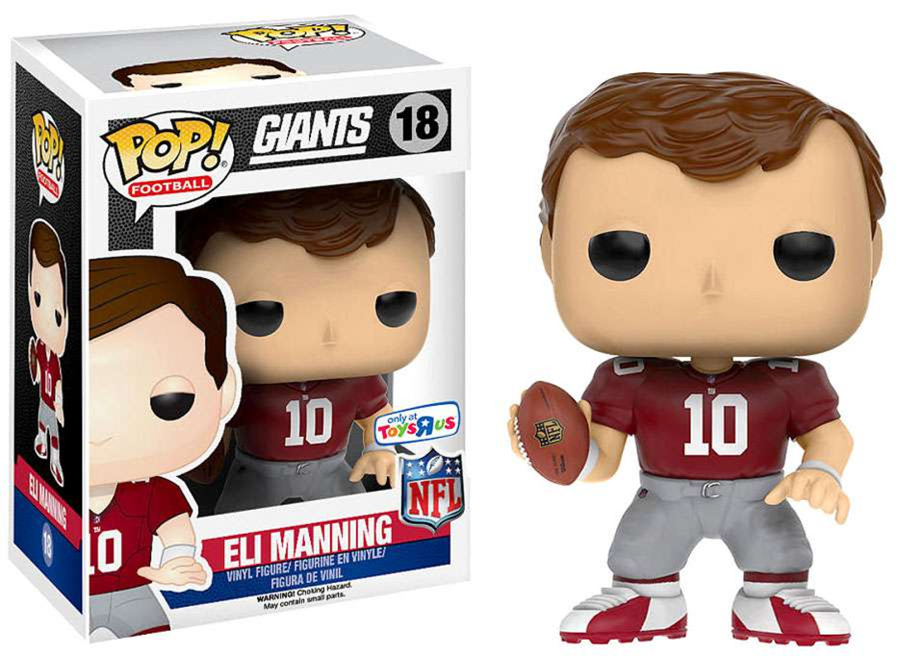 NFL New York Giants Funko POP! Sports Eli Manning Exclusive Vinyl Figure  18    eeed048aa