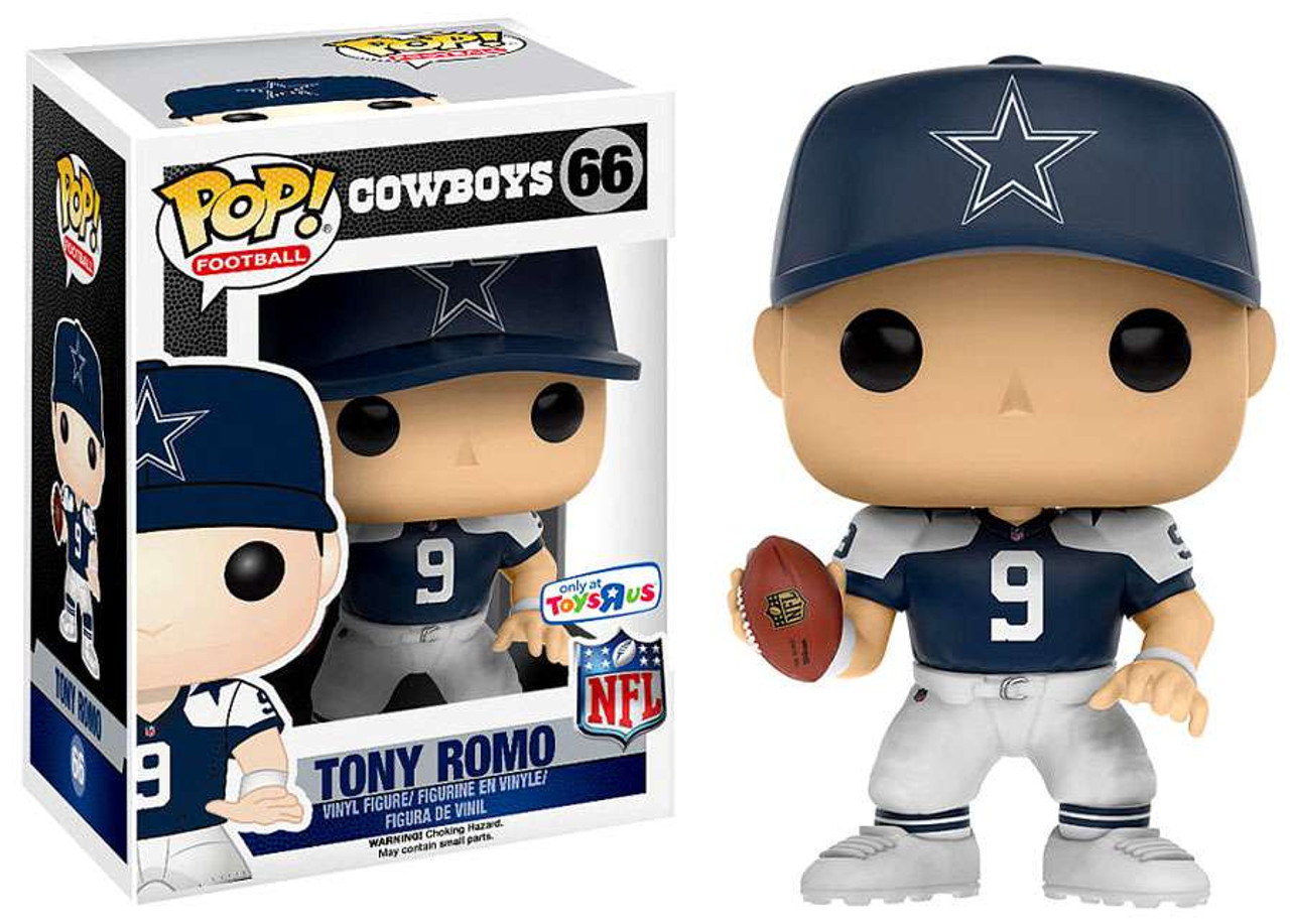 purchase cheap 72610 a64e5 NFL Dallas Cowboys Funko POP! Sports Tony Romo Exclusive Vinyl Figure #40  [Throwback Jersey]