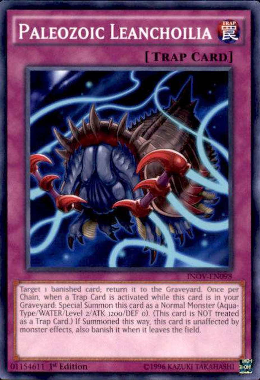 YuGiOh Invasion Vengeance Single Card Common Paleozoic