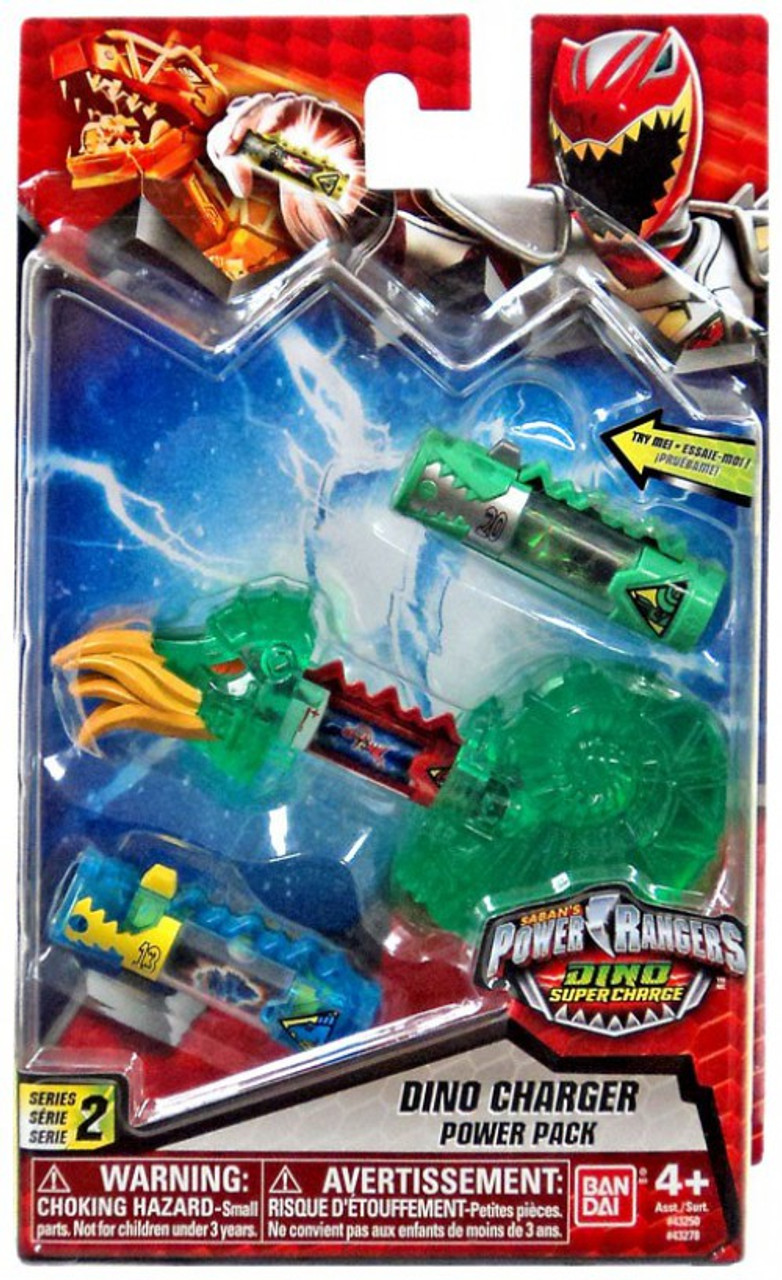 - Power Rangers Dino Super Charge Series 2 Translucent Green Dino