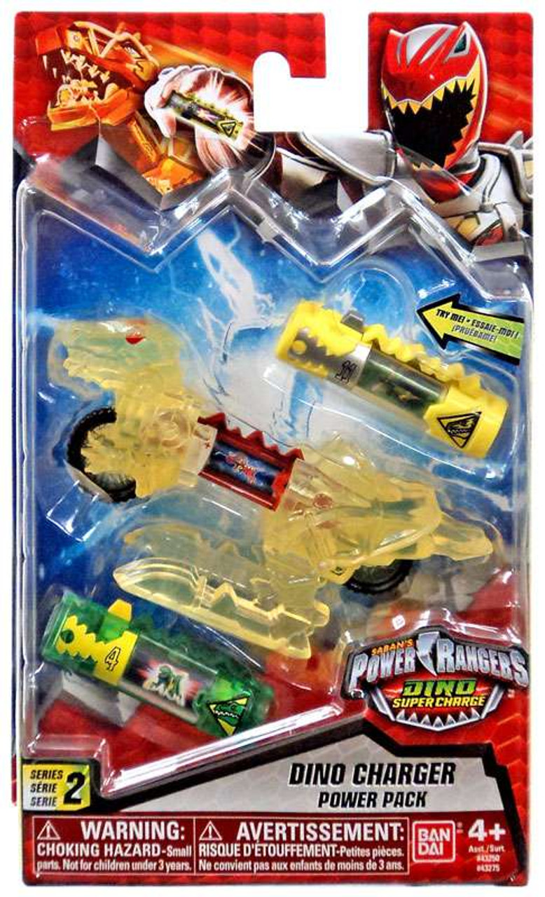 - Power Rangers Dino Super Charge Series 2 Translucent Yellow Dino