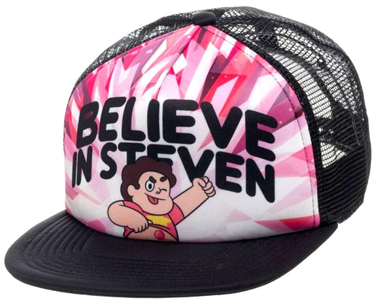 Steven Universe Believe in Steven Snapback Hat Bioworld - ToyWiz 2f95612499a