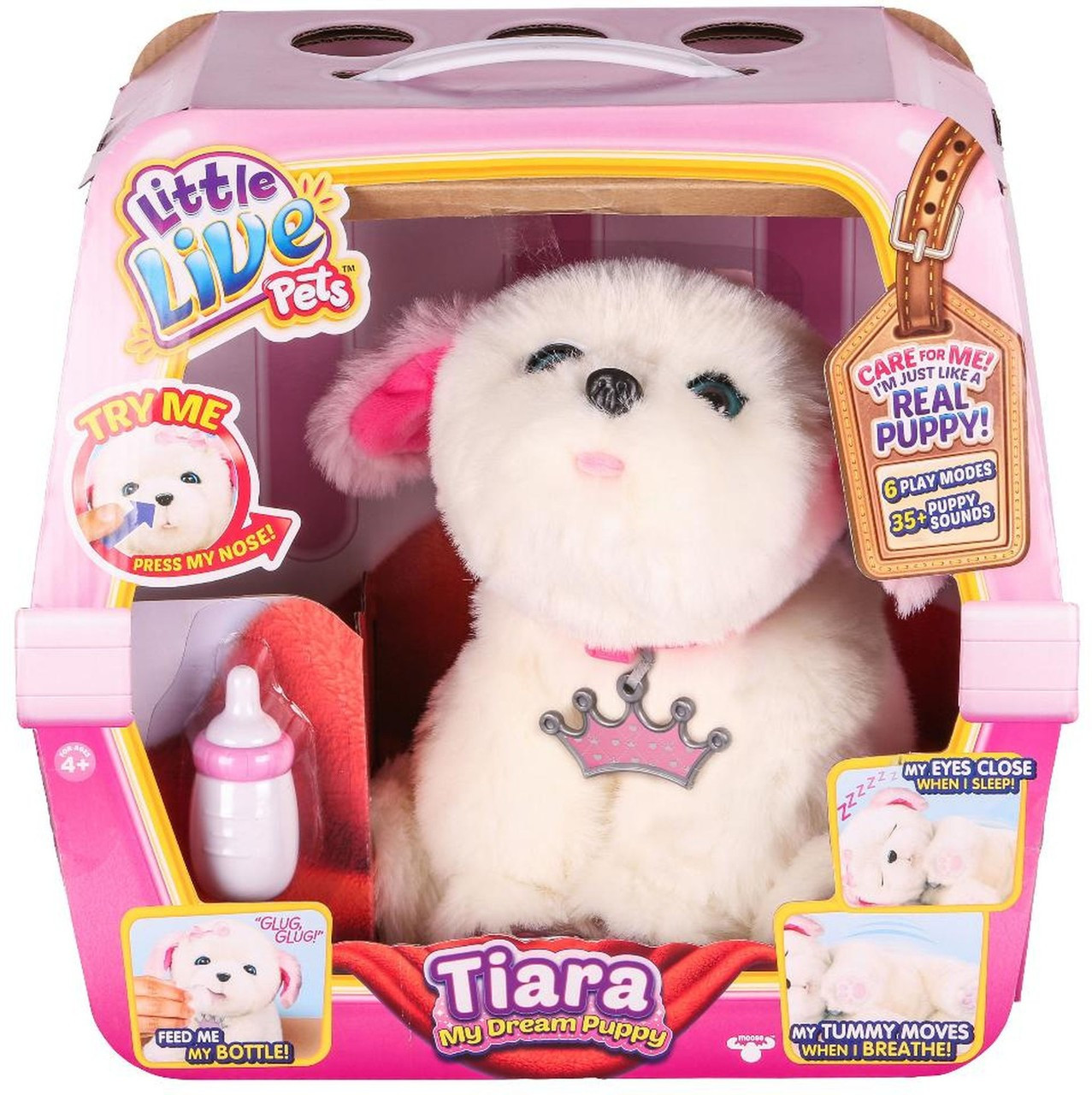 72ef3602ab65d Little live pets dream puppy tiara exclusive electronic pet moose toys  toywiz jpg 1277x1280 Puppy tiara