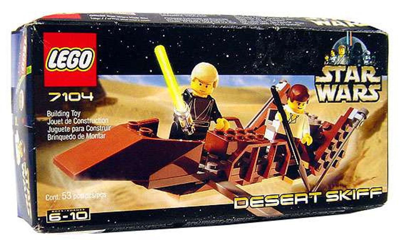 LEGO STAR WARS #75174 Desert Skiff Escape Building Toy Set