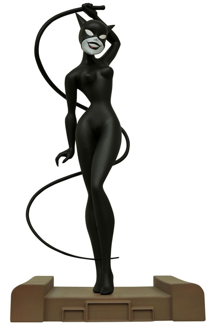 Dc Batman The Animated Series Dc Gallery Catwoman 9 Pvc Figure