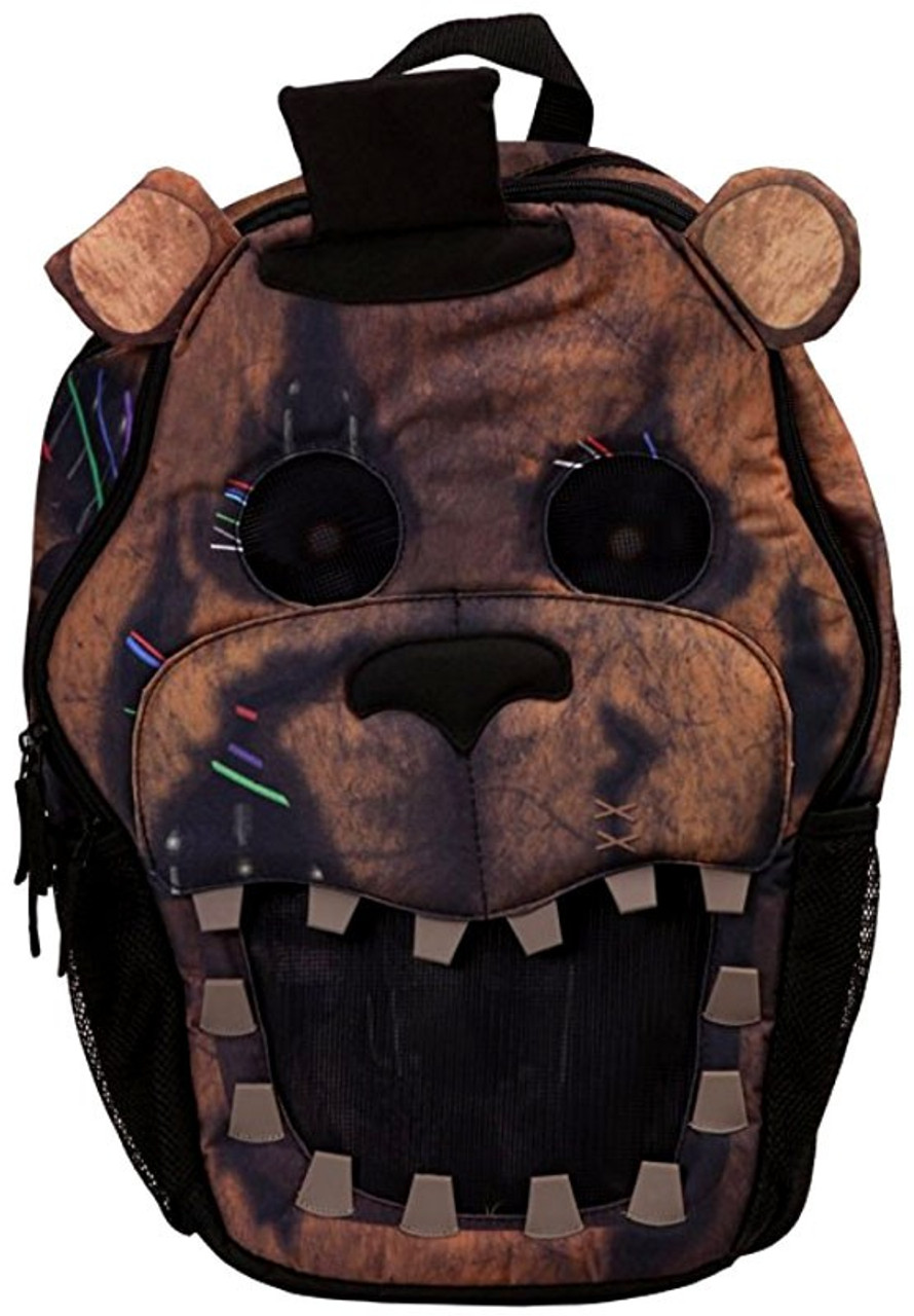 Five Nights At Freddy S 3d Big Face Backpack