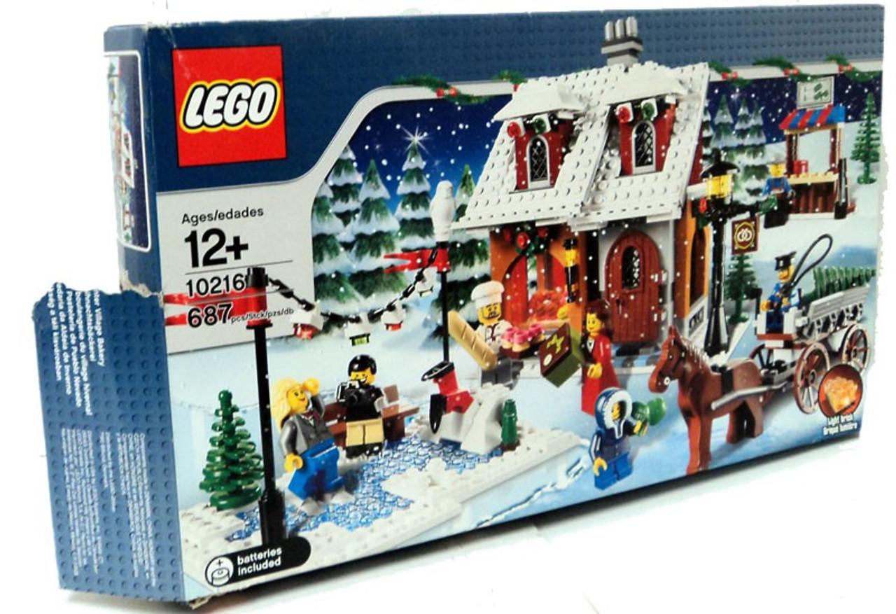 Lego Christmas.Lego Christmas Winter Village Winter Village Bakery Exclusive Set 10216 Damaged Package